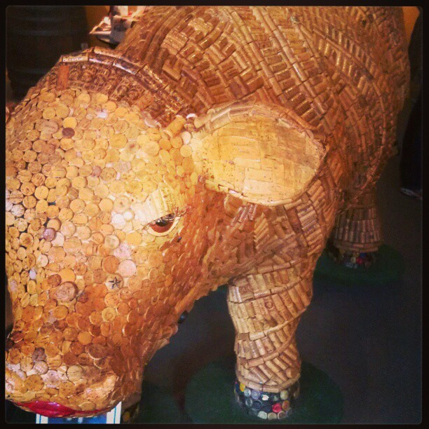 cork cow