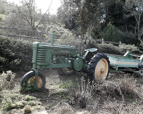 Benzinger Winery John Deere Tractor