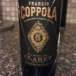 Wine of the Week: Francis Coppola Black Label Claret