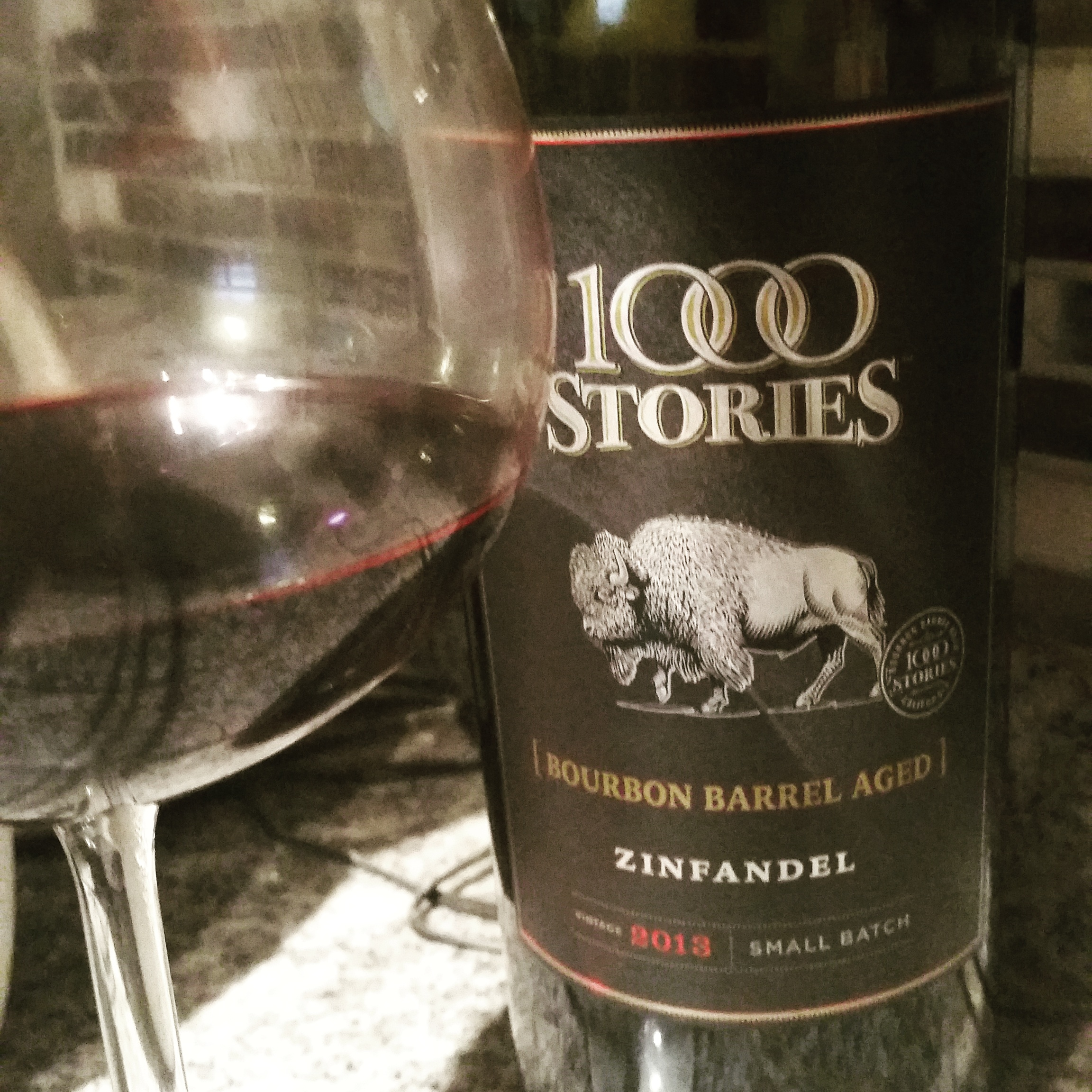 Tasting Notes: 1000 Stories Bourbon Barrel-Aged Zin