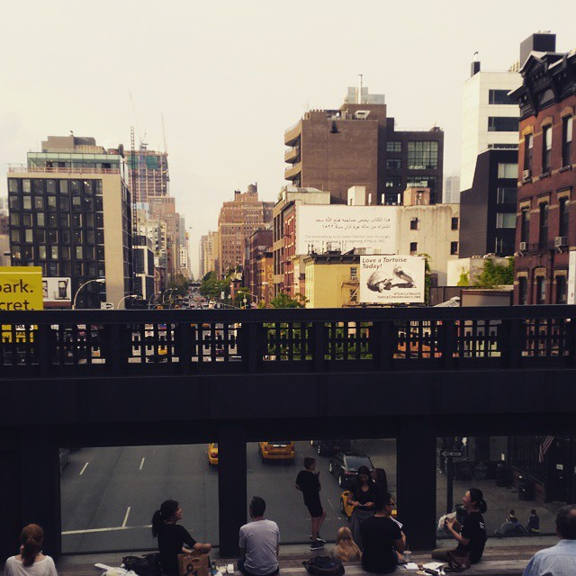 High Line Park, Manhattan, NYC