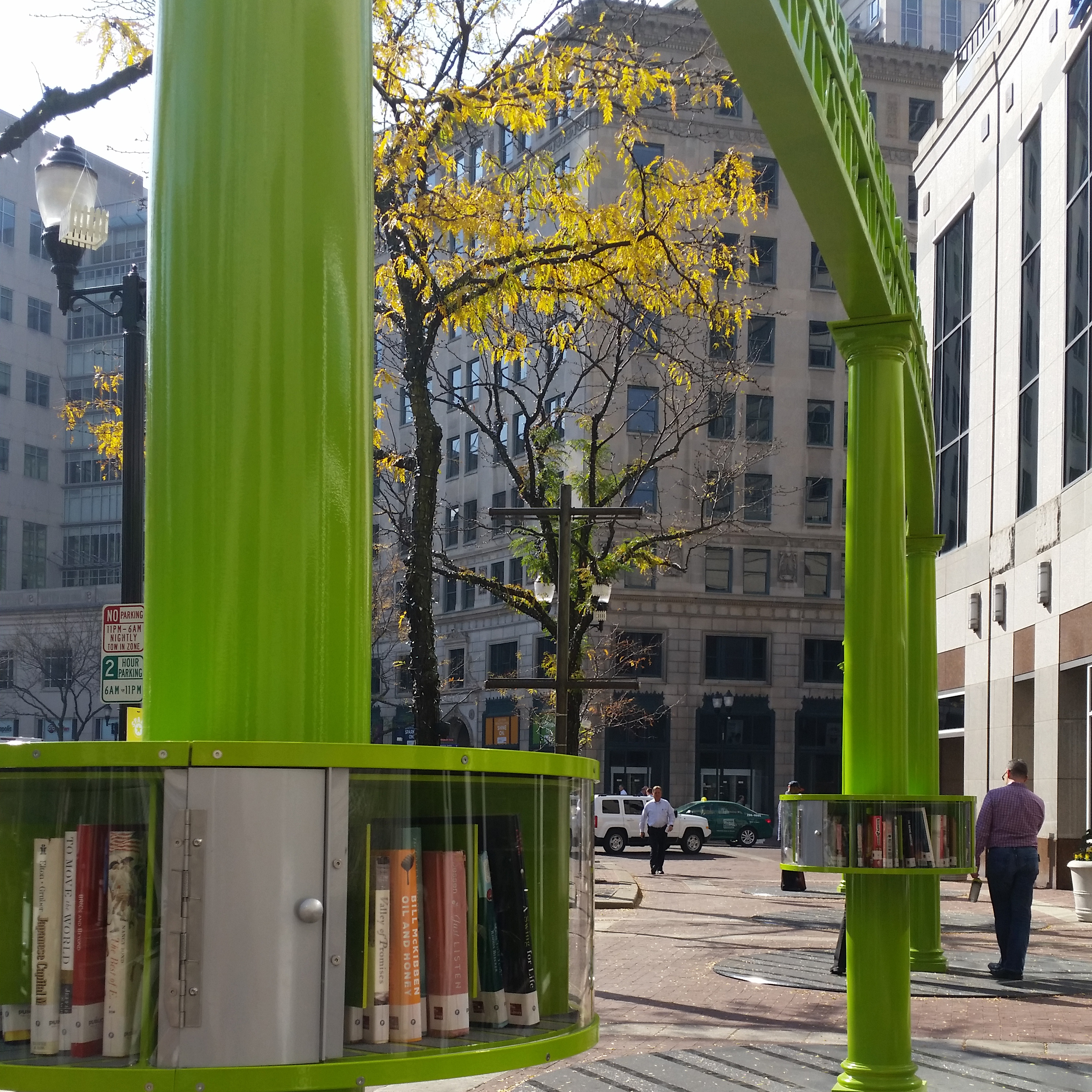 Downtown Indy Book Art