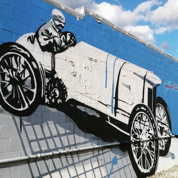 Indy Car Street Art Speedway